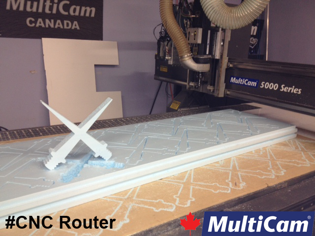 MultiCam Router in Action!