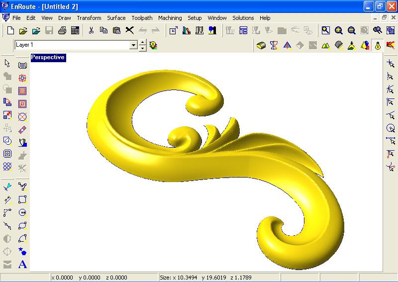 Enroute software d reliefs multicam canada