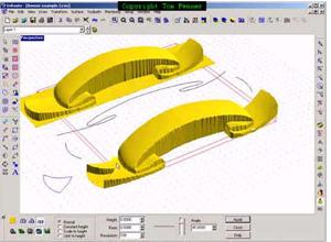 EnRoute Software: 3D Reliefs - MultiCam CanadaMultiCam Canada